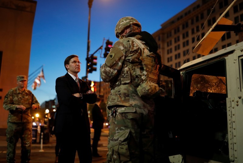 Perils for Pentagon as Trump threatens to militarize response to civil unrest