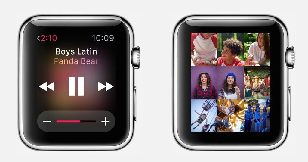 Apple Watch includes 8 GB of storage, allows 2 GB of music and 75 MB of photos