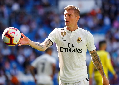 Soccer: Injured Kroos to miss Germany's next two Euro 2020 qualifiers