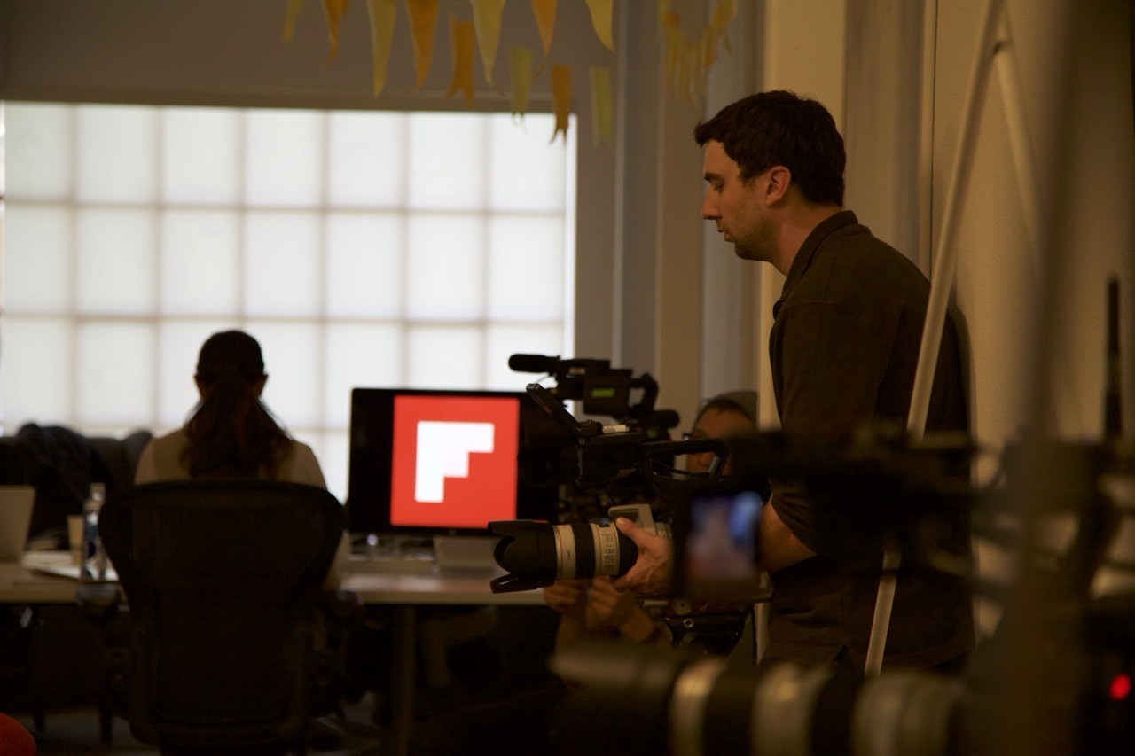 Behind the scenes in the Flipboard newsroom