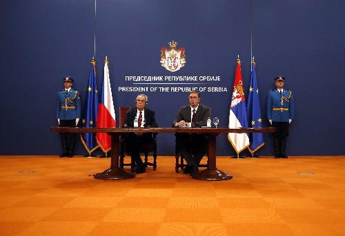 Czech leader wants to revoke Kosovo's recognition