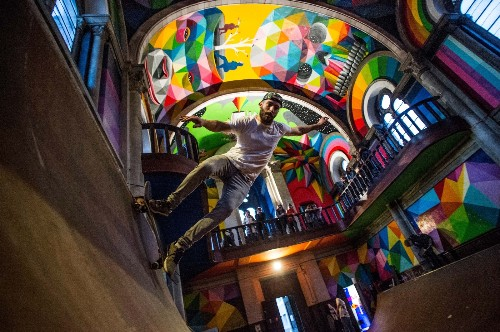 The Shot: Busting a Move in a Spanish Church