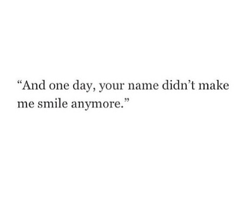Waiting for that one day.