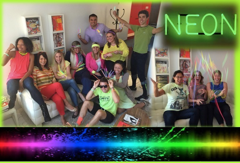 Neon day!