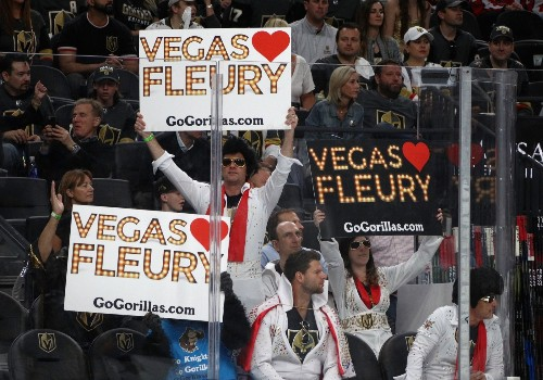 The Hottest Show in Vegas is a Hockey Game: Pictures