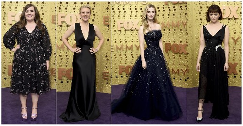 AP PHOTOS: How the stars shined on Emmy Awards carpet