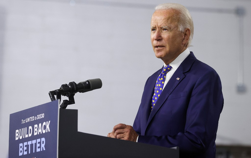 Trailing in election polls, Trump says rival Biden opposes God and guns