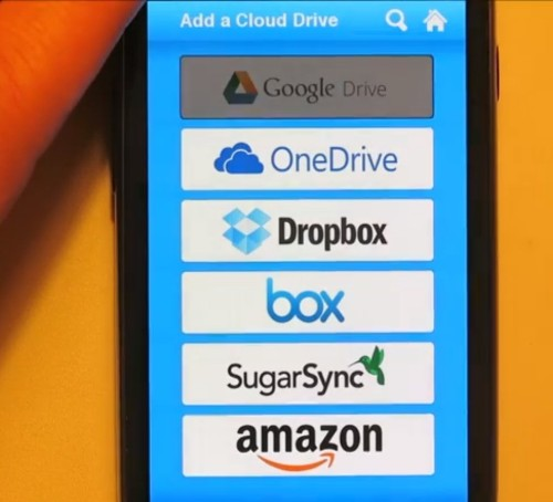 CloudGOO's New App Turns All Your Cloud Storage Accounts Into One Big, Combined Drive