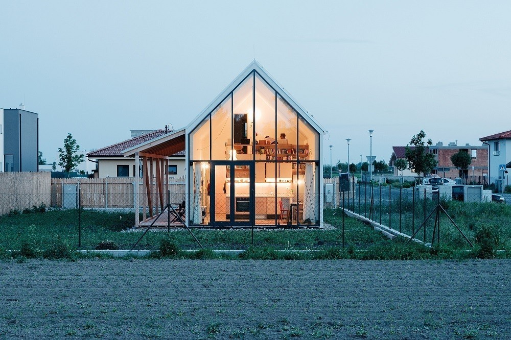 Articles about these modern glass homes shatter conventions on Dwell.com