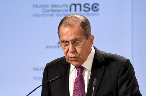 Russia's Lavrov dubs UK's Williamson 'minister of war'