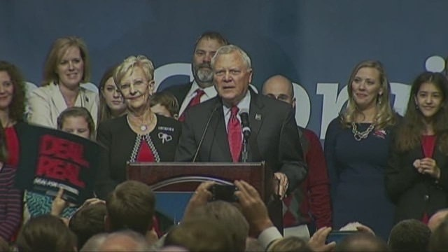 GOP governors sweep into blue states