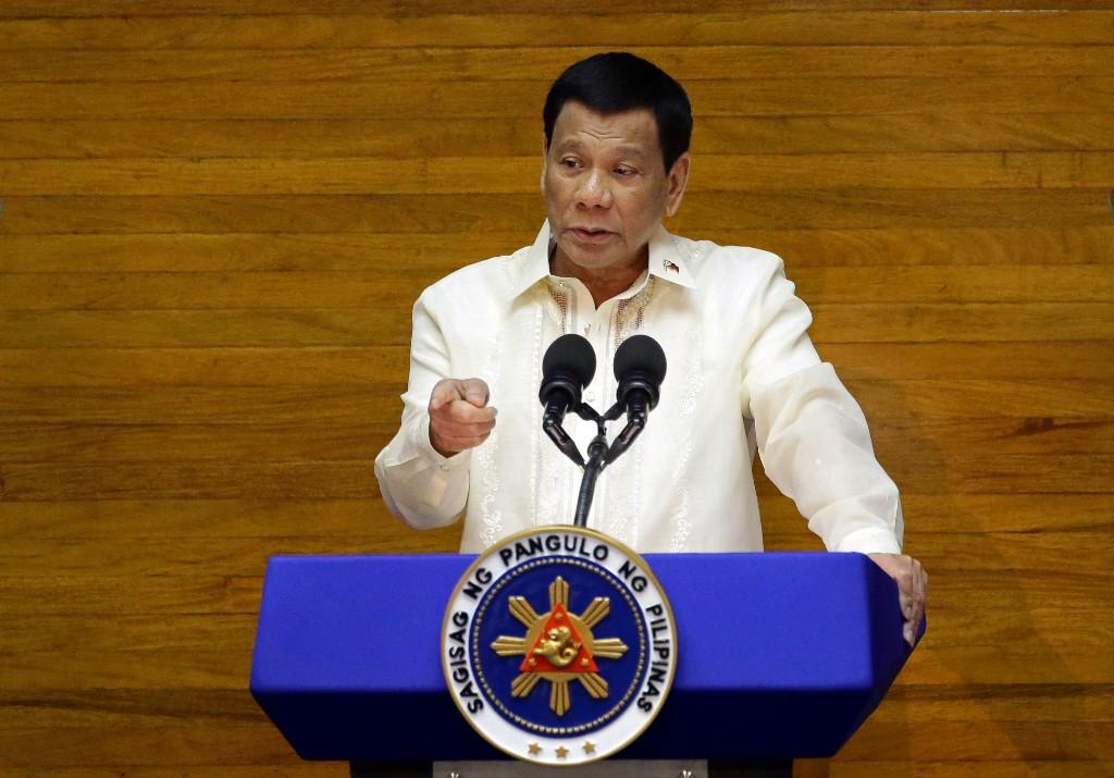 Duterte, Savior Of His People - Magazine cover