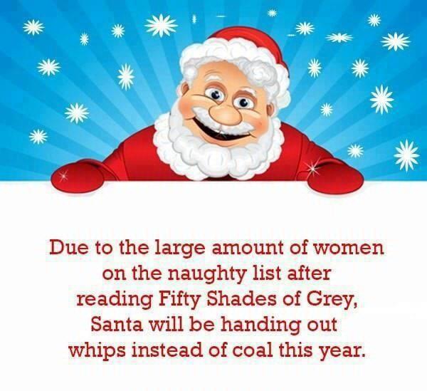 Right on Santa!
