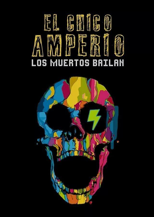 """El nuevo disco de El Chico Amperio ya tiene nombre y cara, se llamará """"Los muertos bailan"""" y estará formado por 14 canciones. Aquí el artwork diseñado por Patricia Sánchez. En breve nuevo videoclip #musica #punkrock #ElChicoAmperio www.elchicoamperio.com"""