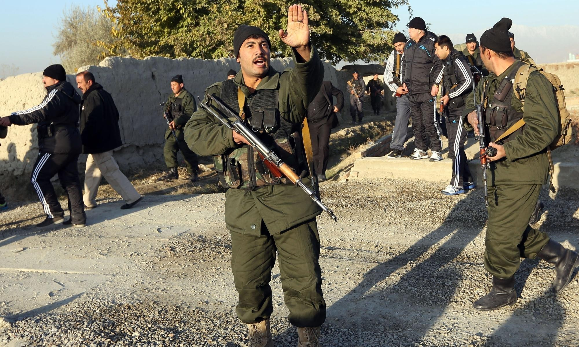 Four Taliban militants dead in attack on foreign workers in Kabul
