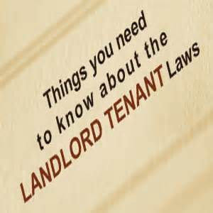 Landlord-Tenant Laws - cover