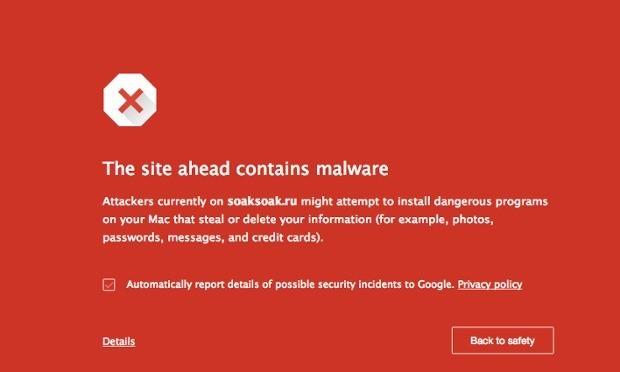 SoakSoak malware leaves 11,000 WordPress sites blacklisted by Google