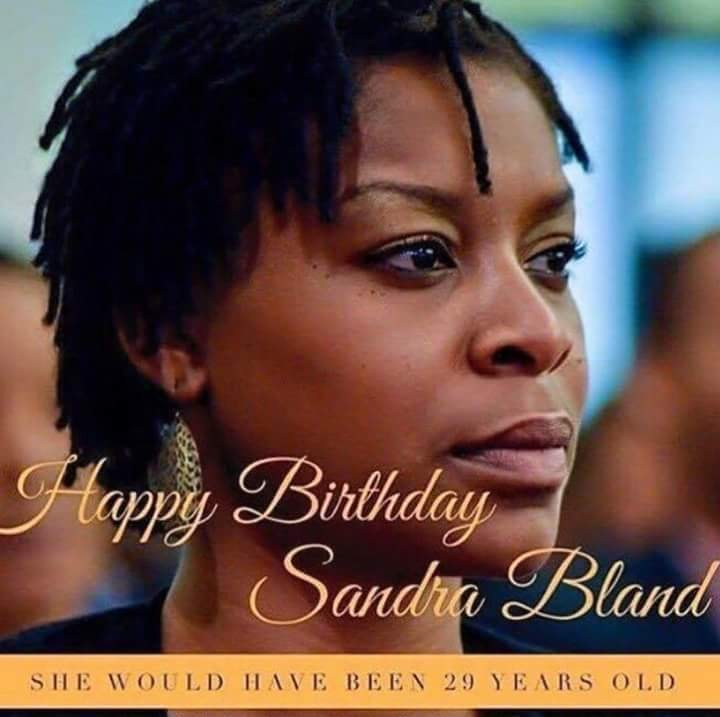 The Death Of Sandra Bland - cover