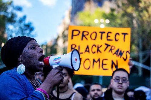 Protesters demand end to killings of transgender women, Trump rollbacks
