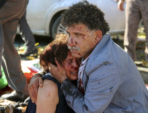 Dozens Killed at Peace Rally in Turkey: Pictures