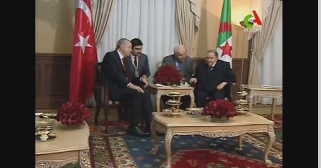 Erdogan, Bouteflika meet in Algiers
