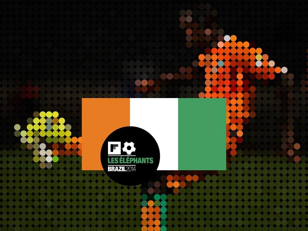 Côte d'Ivoire: World Cup 2014 - Magazine cover