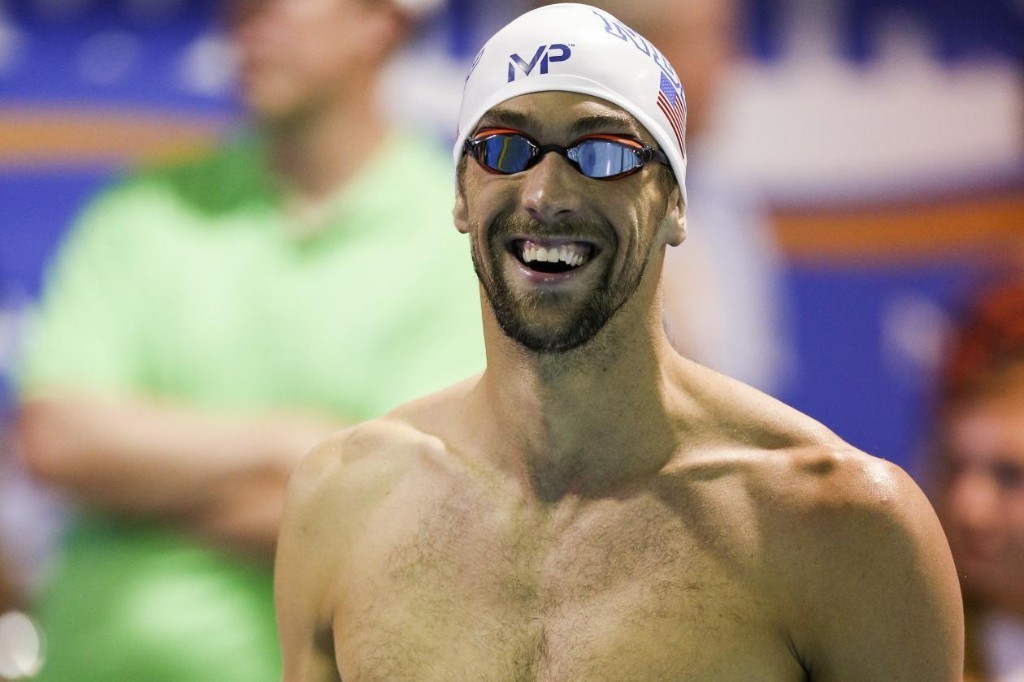 Michael Phelps Says He Won't Drink Alcohol Until After 2016 Summer Olympics