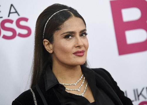 Salma Hayek apologizes for praising controversial new novel