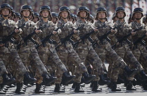 China Marks 70th Anniversary of World War II End
