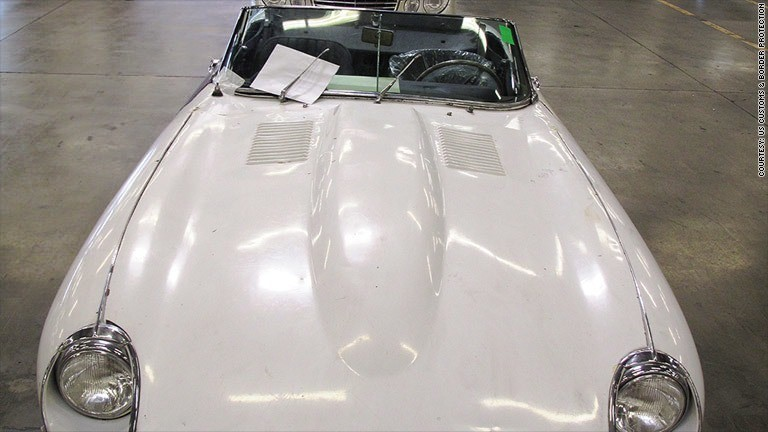 Stolen Jaguar returned to owner 46 years later