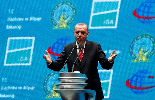 Erdogan vows to crush U.S.-backed Kurdish fighters east of Euphrates in Syria