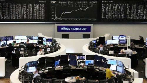 ECB's Draghi pulls European stocks back into black