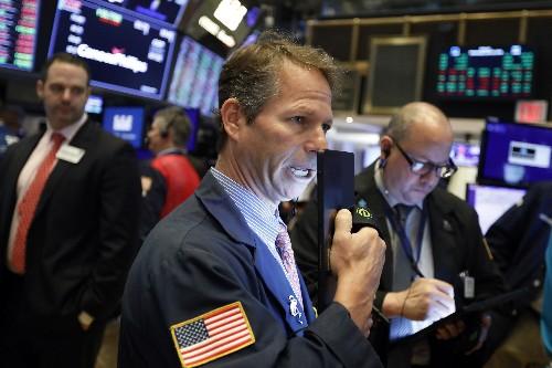 Markets Right Now: Stocks drop on economic worries