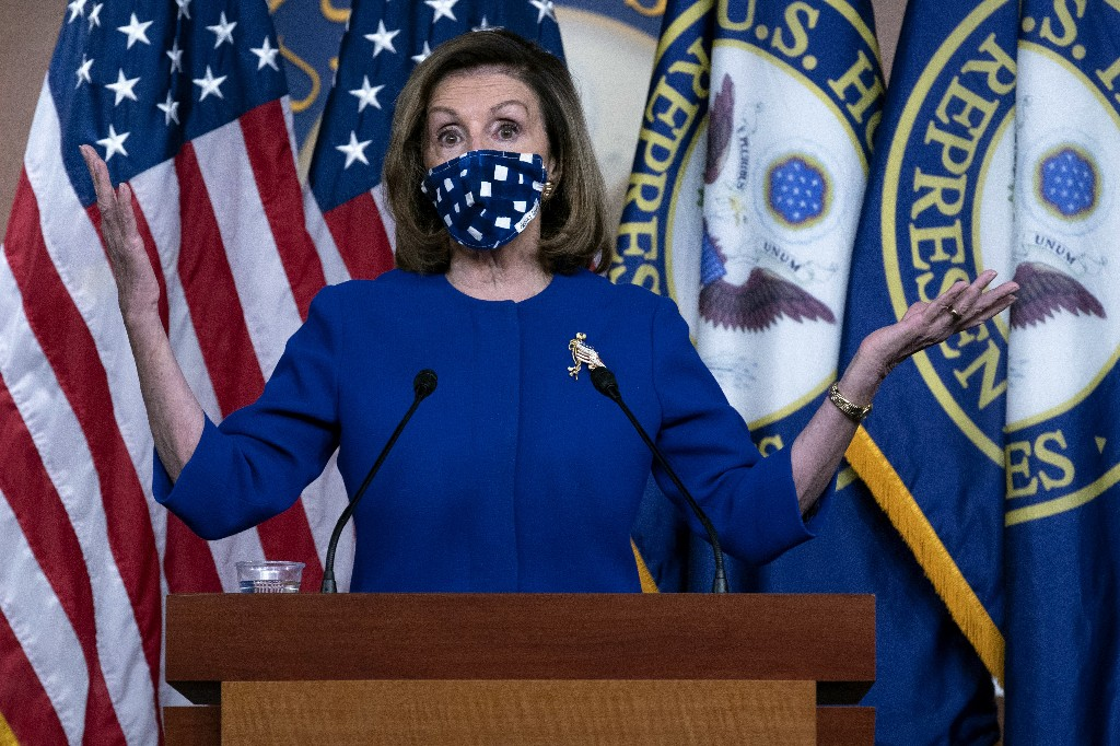 House already won? Pelosi thinks so, and reaches for more