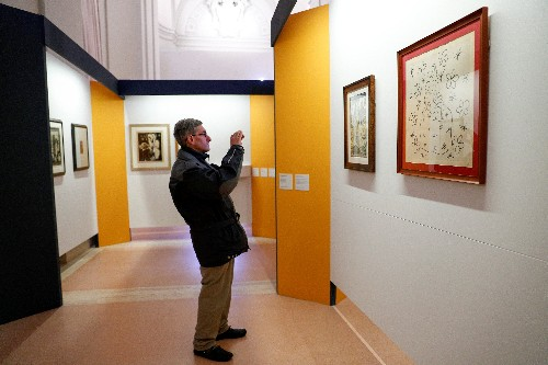 Vatican's 'vampire' prints of rarely seen 20th century art on show