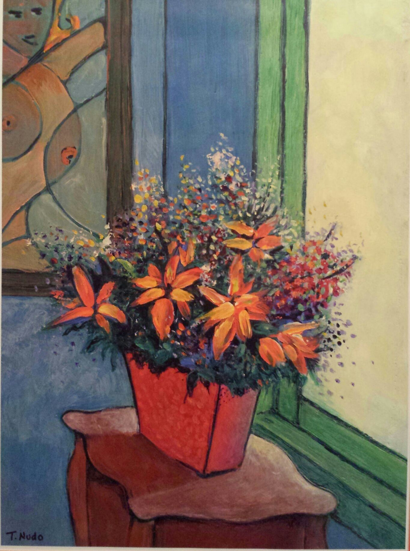 'flowers for picasso '