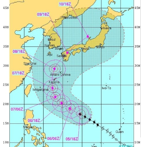 Japan Is About To Get Slammed By The Strongest Typhoon This Year