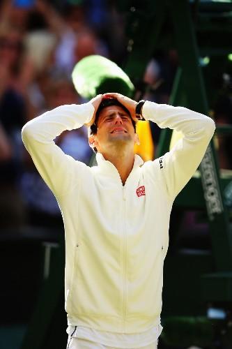 Djokovic Beats Federer in Thriller: Pictures