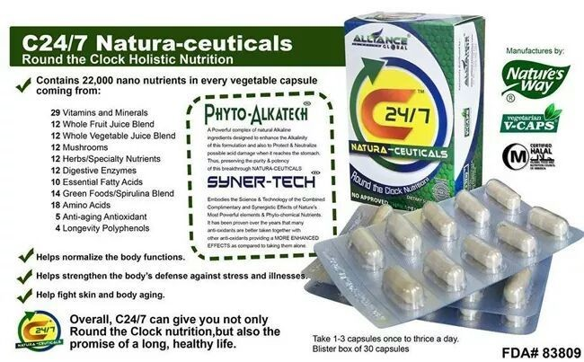 Take c24/7 everday to prevent sick and illnesses..for order just drop your comment or just pm me..s