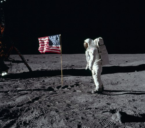 THE SHOT: Photographing Man on the Moon