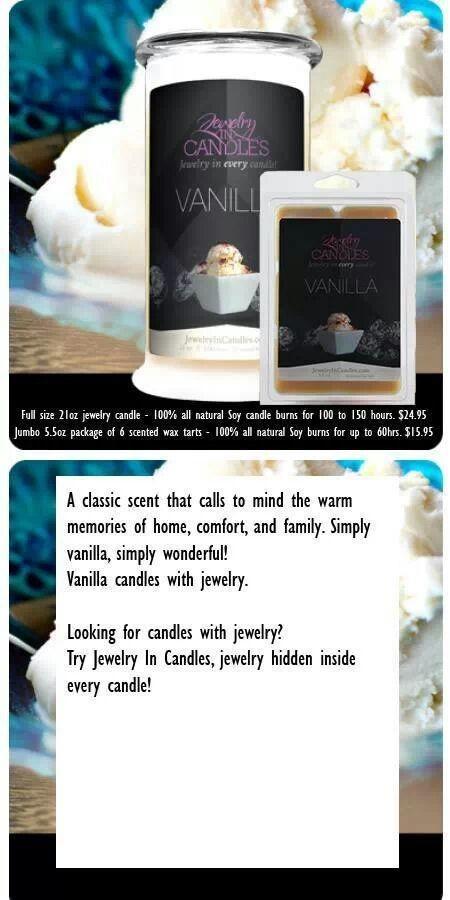 Vanilla www.jewelryincandles.com/store/scentedtreasure