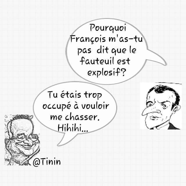 #France Emmanuel Macron en chute libre...