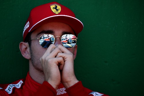 Motor racing: Leclerc accepts he was to blame for Verstappen collision
