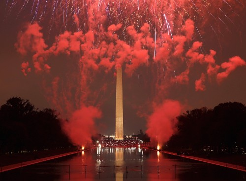 Fireworks Light Up the Sky on July 4th