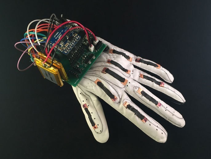 Low-cost smart glove translates American Sign Language alphabet
