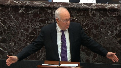 Trump defense counsel Ken Starr says impeachment is 'hell'