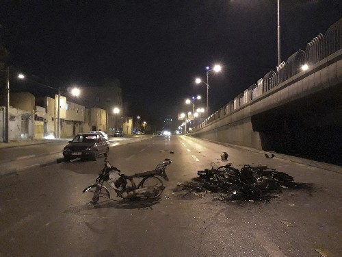 Iran supreme leader warns 'thugs' amid gas price protests