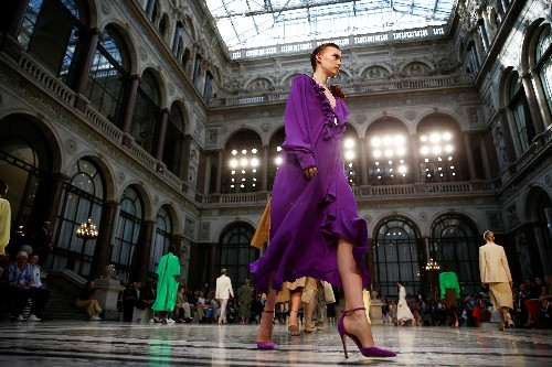 Victoria Beckham sees 'women in motion' for next spring at London Fashion