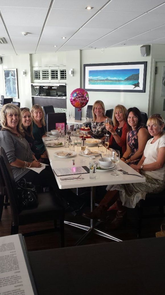 Been so spoilt had a fabulous lunch xx