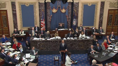 Democrats launch first salvo at Trump impeachment trial, say U.S global standing at stake